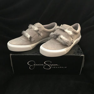 "BNIB  Jessica Simpson ""Dezirae Warm Up"" Sneaker"